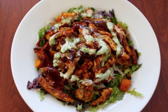 Caulfield, Australia: Deliciously Juicy Chicken Salad