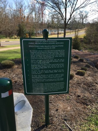 North Augusta, SC: Brick Pond Park