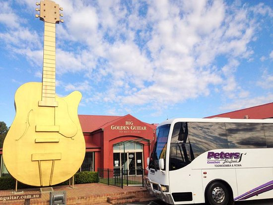 Toowoomba, Australië: Peters Coaches at the Golden Guitar