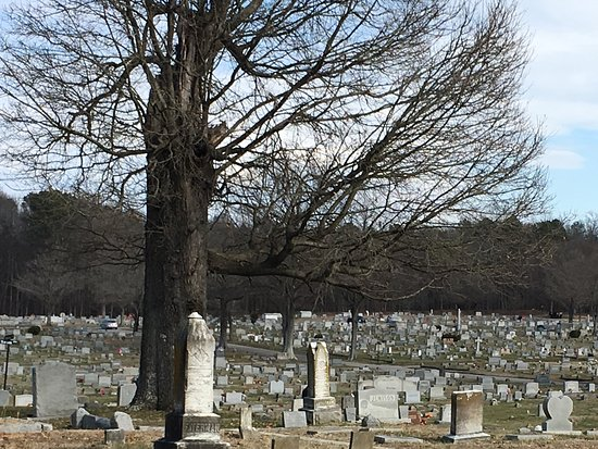 Petersburg, VA: Huge cemetery with stones of all ages