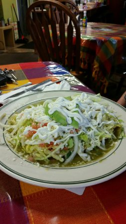 Manahawkin, NJ: Chicken Enchiladas Verdes
