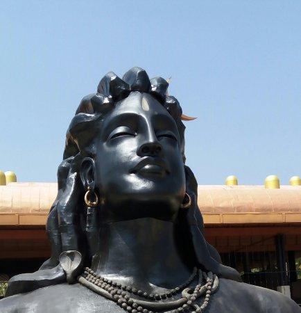 Dhyanalinga Temple: Smaller version of Adhi Yogi Shiva