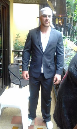 Final Fitting In The Hotel (Shyam Tailor House)