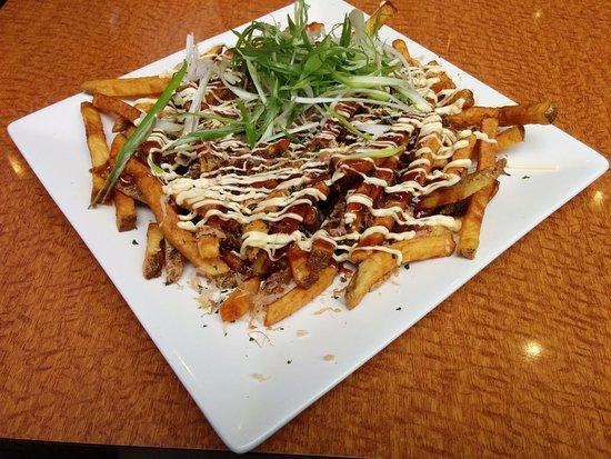 Markham, Canadá: Okonomiyaki fries