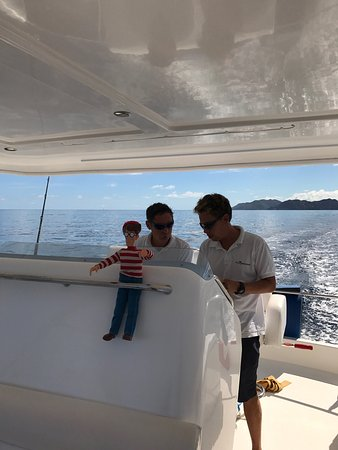 Gustavia, San Bartolomé: Had such a great time with Sebastian & Matt! Waldo loved it as did we! This is a great company t