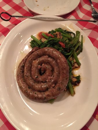Trinity, Φλόριντα: Another outstanding dinner at Taso. The sausage and broccoli rabe were as good as any I've ever