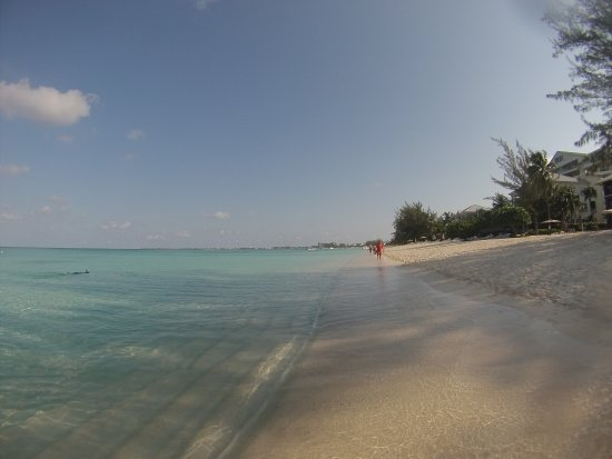 """This is the beach of """"casa caribe"""""""