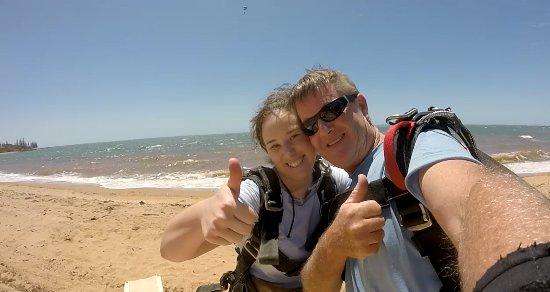 Ρέντκλιφ, Αυστραλία: Afterwards with my instructor Phil