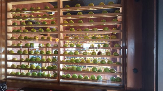 Market Grille: Wall of Apple