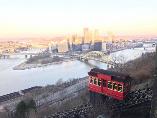Duquesne Incline: Sunset