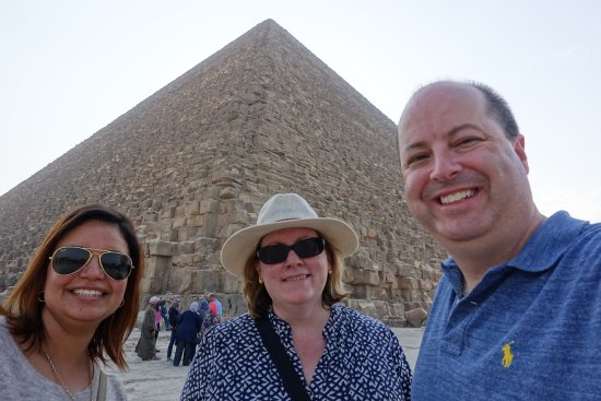 Egypt Sunset Tours: At the Great Pyramid with Rasha