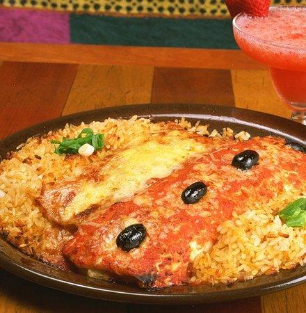Montezuma's: Burritos & Spanish Rice