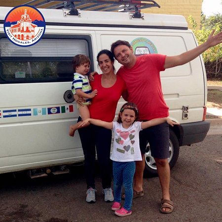 Thank you to the Rodante family for making a stop in Nogales during their North America travels.