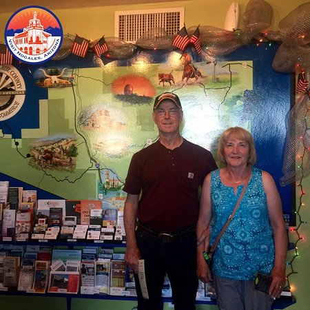 Nogales, AZ: Thank you to this couple from Alaska who stopped by while traveling through Southern Arizona.