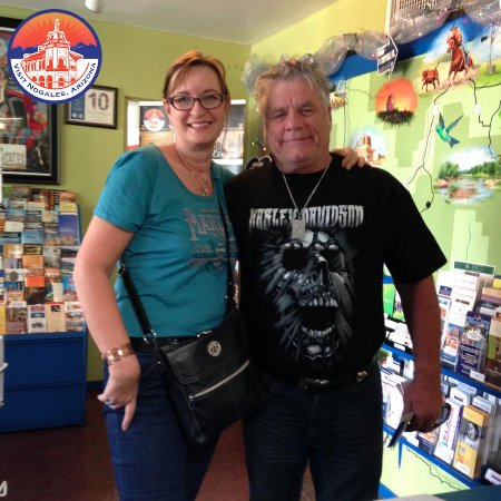 This lovely couple from Australia decided to experience the holidays in Nogales, Arizona.