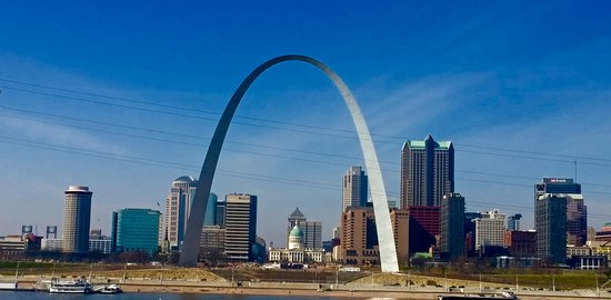 East Saint Louis, IL: More of a St Louis skyline