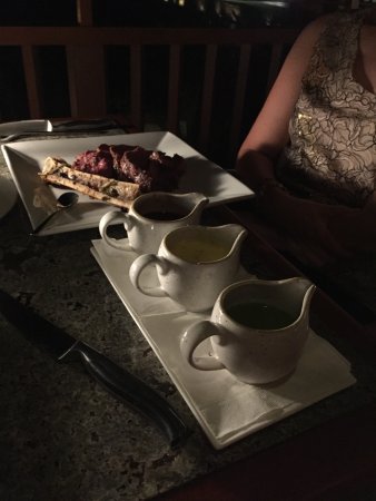 Hualalai Grille: Sauces for the Chateau Briand