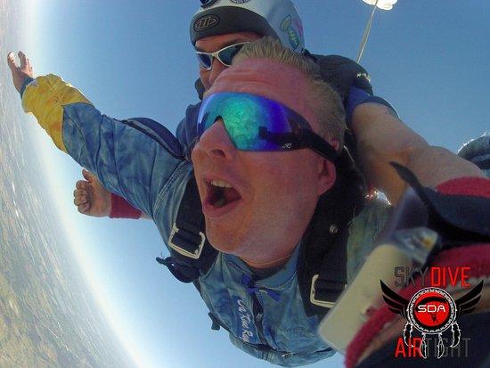 Skiatook, Oklahoma: Tandem Skydive / Skydive Airtight