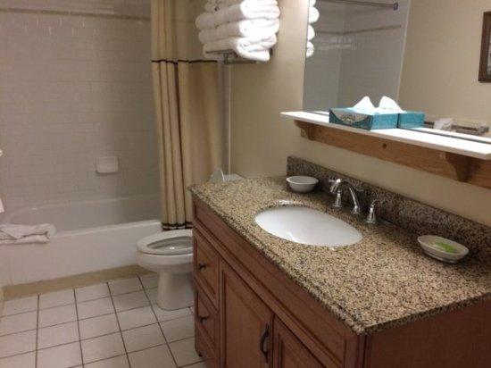 Jeffersonville, Βερμόντ: Liftside 28 bathroom
