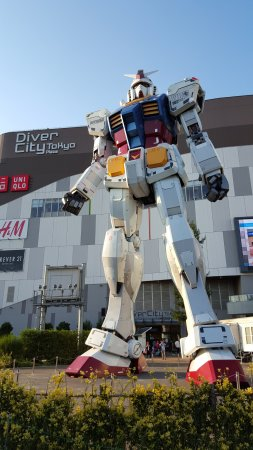 giant robot - odaiba