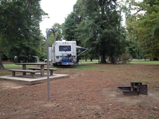 Jasper, Teksas: Nice campsites.