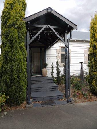 Hanmer Springs, Nova Zelândia: Reception enterance