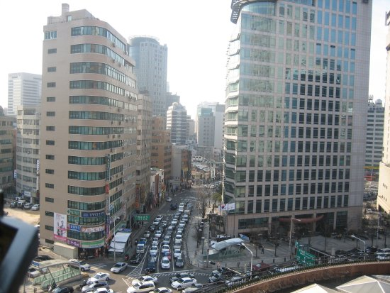 The Westin Chosun Seoul: A view from the Executive Club Lounge