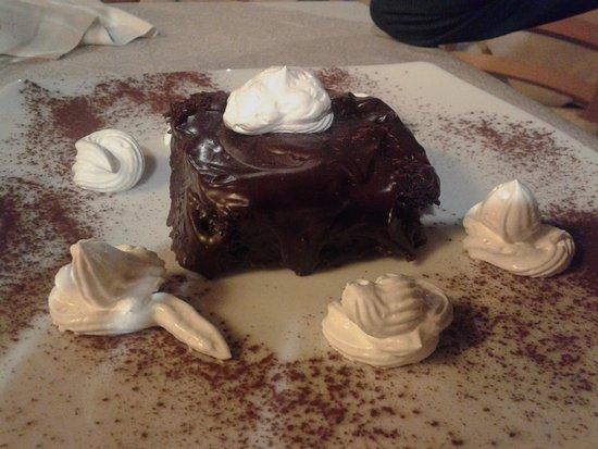 Prossedi, Italia: torta sacher
