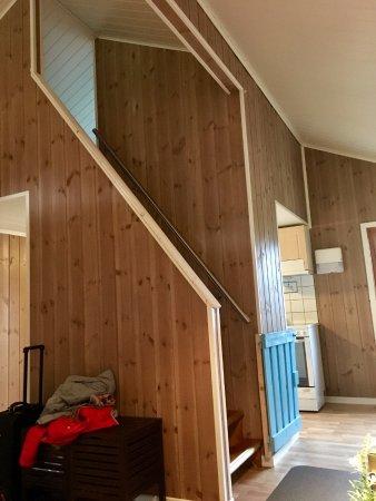 Kinsarvik, Noruega: Inside of cabin