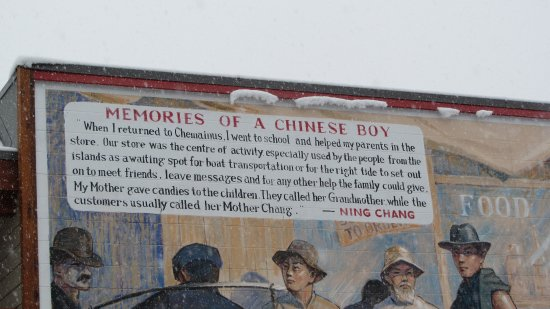 Chemainus, Canada: One of the murals