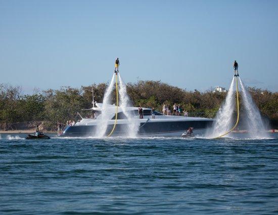 Gold Coast, Australia: Jet pack fun!