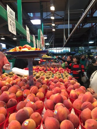 Jean-Talon Markt: gorgeous produce!