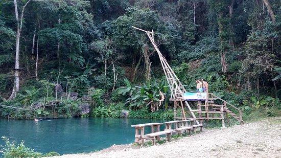 Vang Vieng, Laos: swing