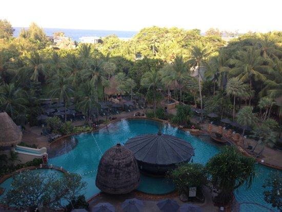 Movenpick Resort & Spa Karon Beach Phuket: vista dalla nostra camera al terzo piano