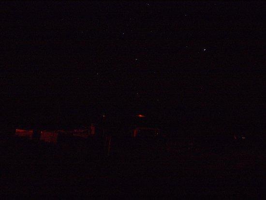 Mauna Kea Summit: Hard to see Kilauea glow