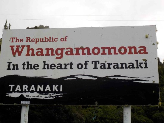 Stratford, New Zealand: Town Sign