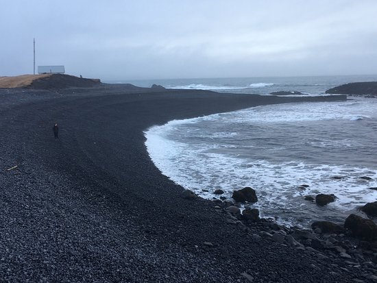 Hellissandur, Islandia: Londrangar Basalt Cliffs