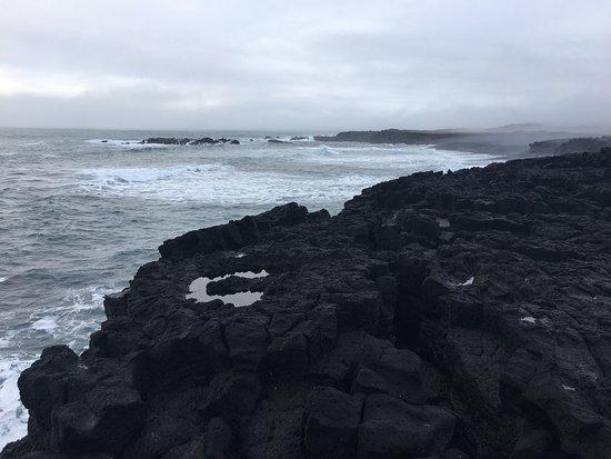 Hellissandur, Ισλανδία: Londrangar Basalt Cliffs