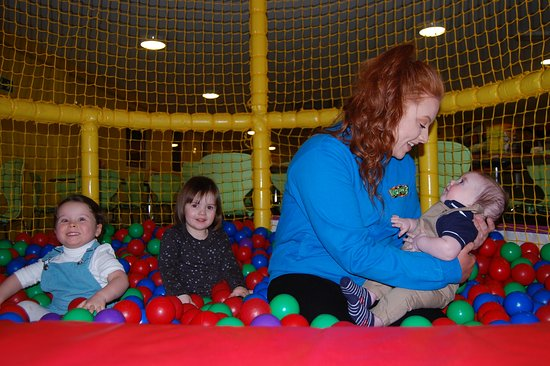 Perth, UK: ball pool in the under 3's