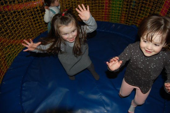 Perth, UK: Under 5's Trampoline