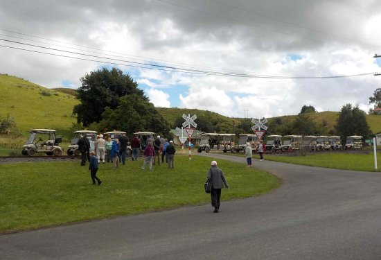 Taumarunui, New Zealand: Visiting Matiere