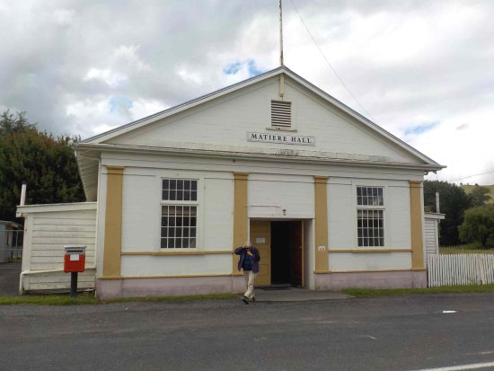Taumarunui, New Zealand: Matiere hall