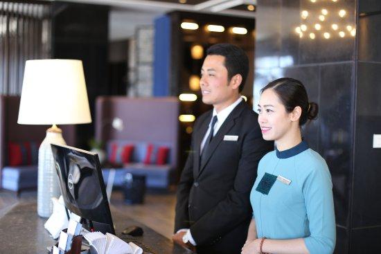 Professional 24/24h hotel receptionists - Picture of Aira Boutique Sapa  Hotel & Spa, Sapa - Tripadvisor