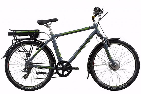 Alnwick, UK: Raleigh Velo XC Electric Bikes available for hire