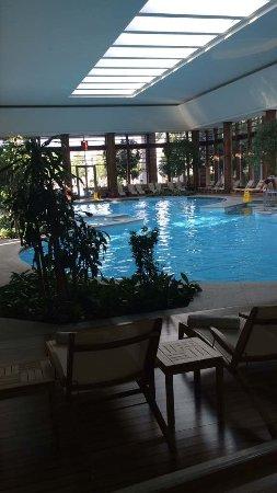 Gloria Serenity Resort: Harika Kapalı Havuzu..SPA Bölümünün İçinde..