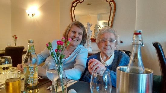 Rustington, UK: My 96 yr old Mum and me