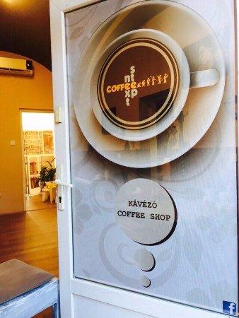 Új design az ajtónkon. - Picture of Next Step Coffee ad3f06e0eb