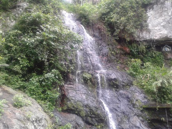 Tiangua: Vontade de entrar na água gelada.
