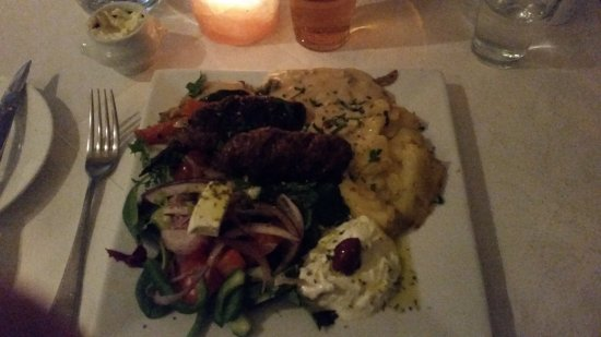 Moss, Νορβηγία: Meatballs, photo doesn't do it justice. So good!!