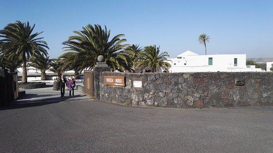 San Bartolomé, Spanien: Viinitilan portti